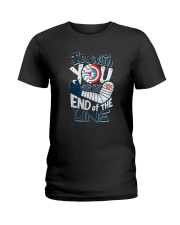 I'm With You Till The End Of The Line Ladies T-Shirt tile