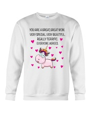 You Are A Great Great Mom Crewneck Sweatshirt thumbnail