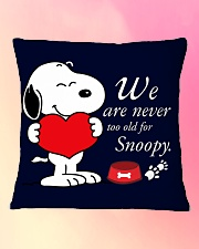 Cute Dog Square Pillowcase aos-pillow-square-front-lifestyle-9
