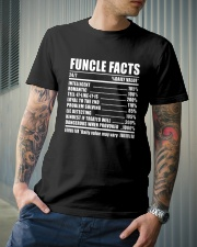 Funcle Facts Classic T-Shirt lifestyle-mens-crewneck-front-6