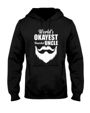 World's Okeyest Bearded Uncle Hooded Sweatshirt thumbnail