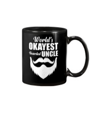 World's Okeyest Bearded Uncle Mug tile