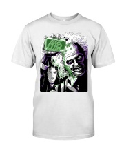 Beetlejuice Fight Club Classic T-Shirt front