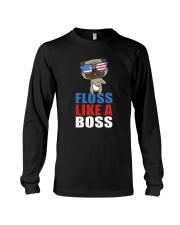Floss Like A Boss Long Sleeve Tee thumbnail
