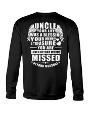Uncle Your Life Was A Blessing Crewneck Sweatshirt thumbnail