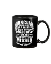 Uncle Your Life Was A Blessing Mug tile