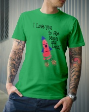 I Love You To The Moon And Back Classic T-Shirt lifestyle-mens-crewneck-front-6