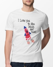 I Love You To The Moon And Back Classic T-Shirt lifestyle-mens-crewneck-front-13