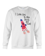 I Love You To The Moon And Back Crewneck Sweatshirt thumbnail