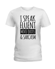 Christmas-Ispeakfluent Ladies T-Shirt thumbnail