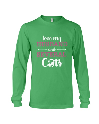 Love My Husband And Several Cats