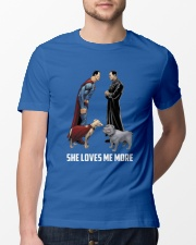 She Loves Me More Classic T-Shirt lifestyle-mens-crewneck-front-13