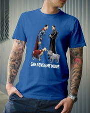 She Loves Me More Classic T-Shirt lifestyle-mens-crewneck-front-6