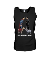 She Loves Me More Unisex Tank thumbnail