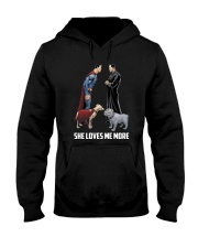 She Loves Me More Hooded Sweatshirt thumbnail