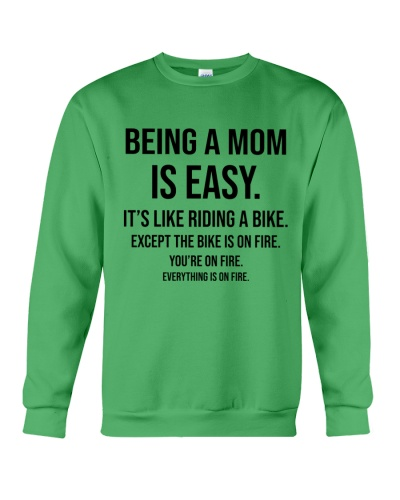 Being A Mom Is Easy