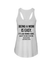 Being A Mom Is Easy Ladies Flowy Tank thumbnail