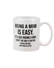 Being A Mom Is Easy Mug thumbnail