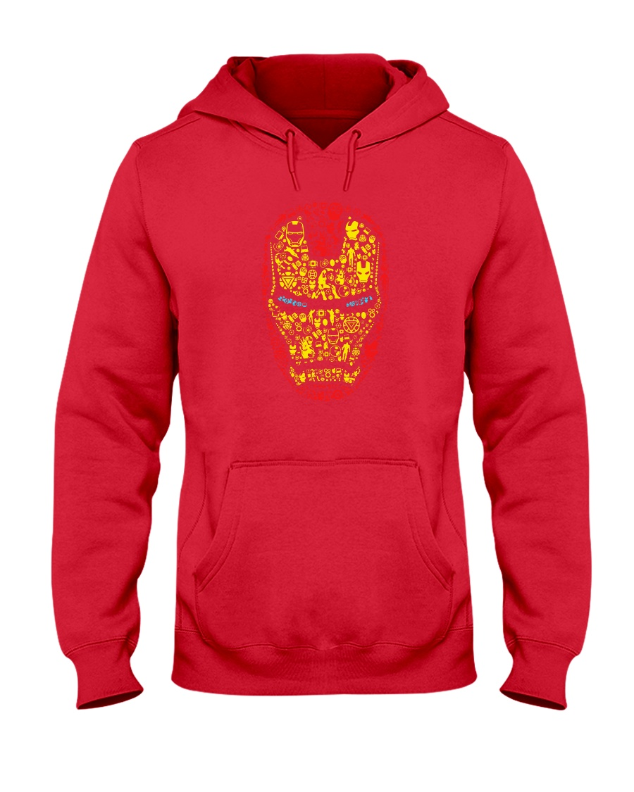 Iron Mask Hooded Sweatshirt