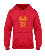 Iron Mask Hooded Sweatshirt front