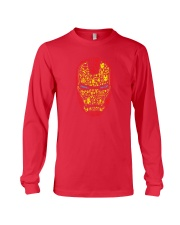 Iron Mask Long Sleeve Tee front