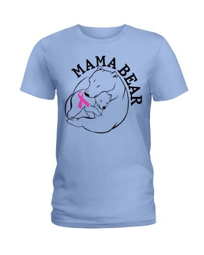 Mama Bear - Cancer Shirt