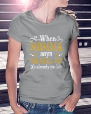 When Momma Says Ladies T-Shirt lifestyle-women-crewneck-front-7