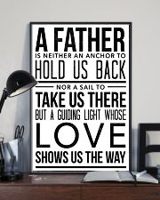 A Father Is Neither An Anchor To Hold Us Back 16x24 Poster lifestyle-poster-2