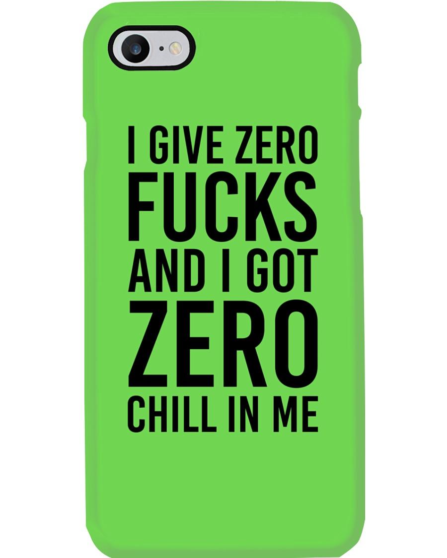 I Give Zero Phone Case
