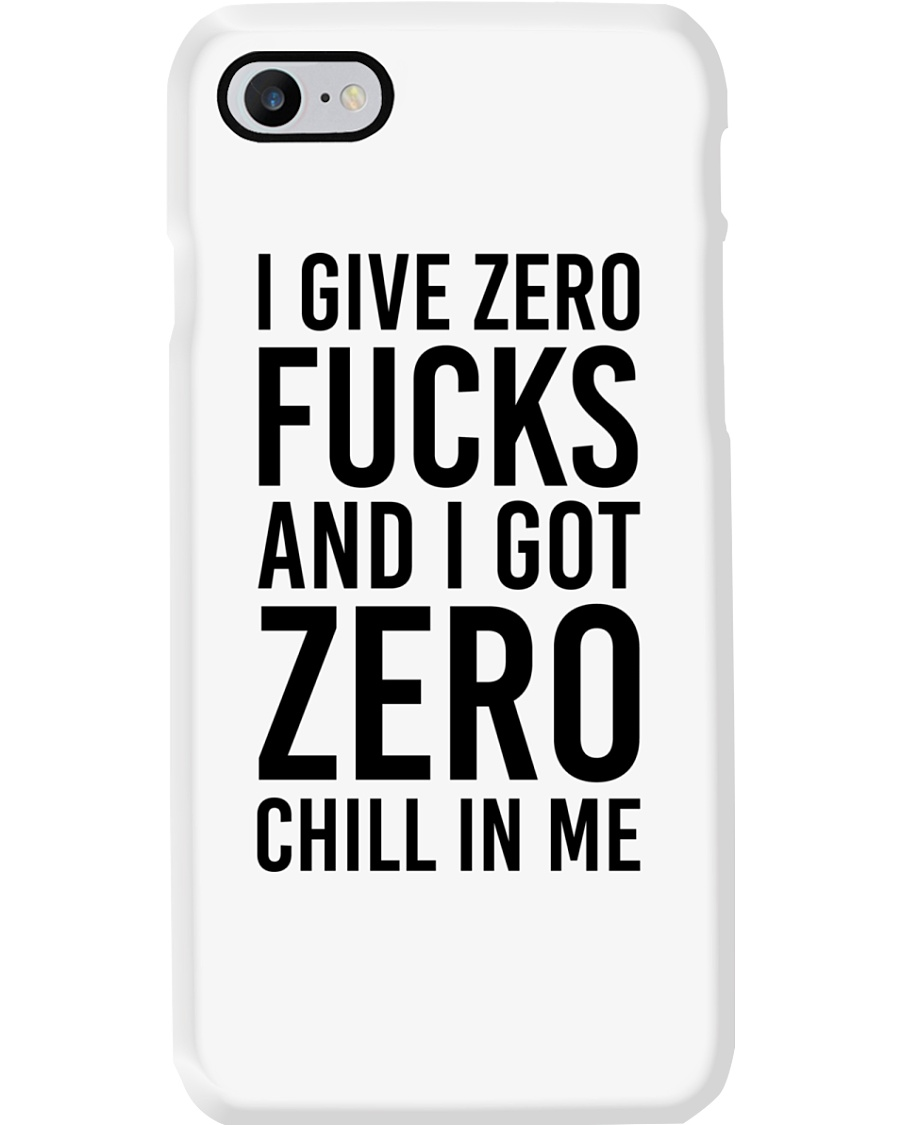 I Give Zero Phone Case