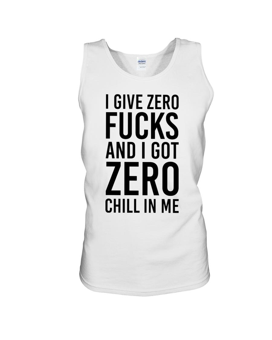 I Give Zero Unisex Tank