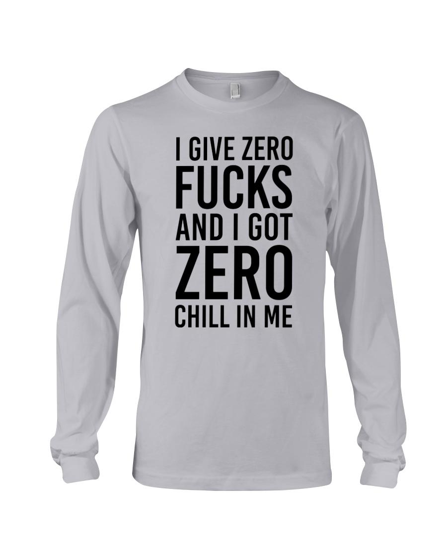 I Give Zero Long Sleeve Tee