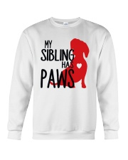 My Sibling Has Paws  Crewneck Sweatshirt thumbnail