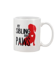 My Sibling Has Paws  Mug tile