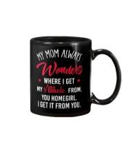 My Mom Always Wonder Where I Get My Attitude From Mug thumbnail