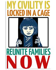 Reunite Family Now 16x24 Poster front