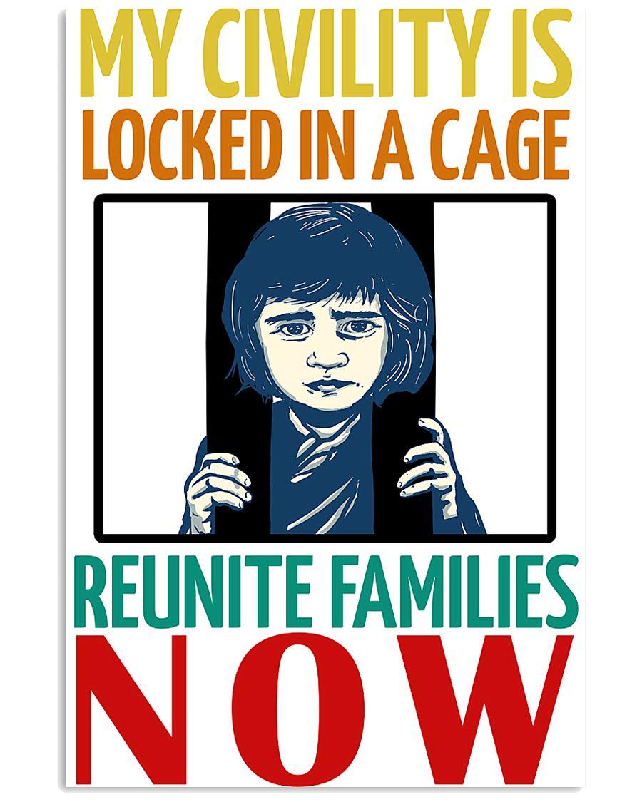 Reunite Family Now 16x24 Poster