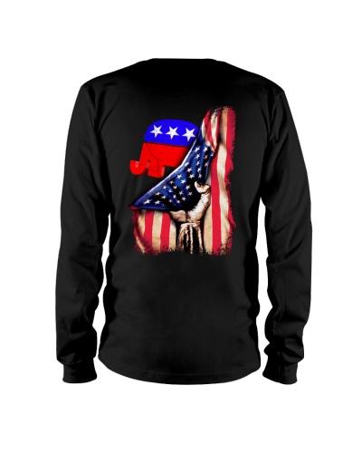 Macrolid 2D America Elephant Flag