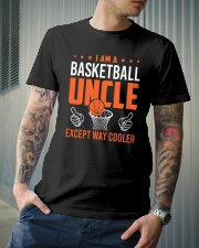 I Am A Basketball Uncle Classic T-Shirt lifestyle-mens-crewneck-front-6