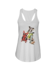 Dog Squad Ladies Flowy Tank tile