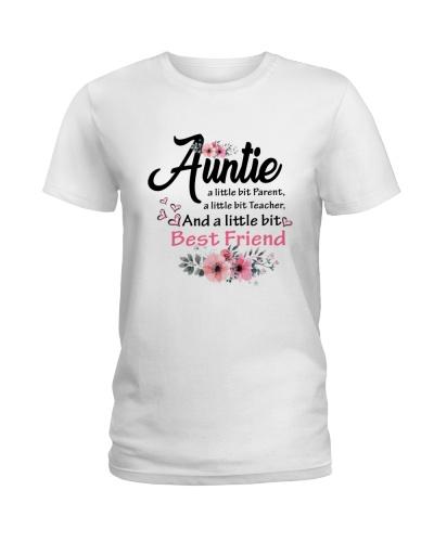 Auntie A Little Bit Best Friend