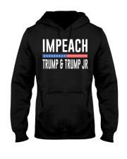 Impeach 45 Hooded Sweatshirt front