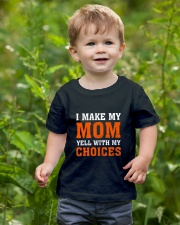 I Make My Mom Yell With My Choices Youth T-Shirt lifestyle-youth-tshirt-front-3
