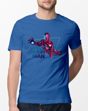 Iron Hero Classic T-Shirt lifestyle-mens-crewneck-front-13