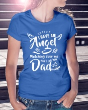 I Have An Angel Watching Over Me Ladies T-Shirt lifestyle-women-crewneck-front-7