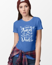 I Have An Angel Watching Over Me Ladies T-Shirt lifestyle-women-crewneck-front-9
