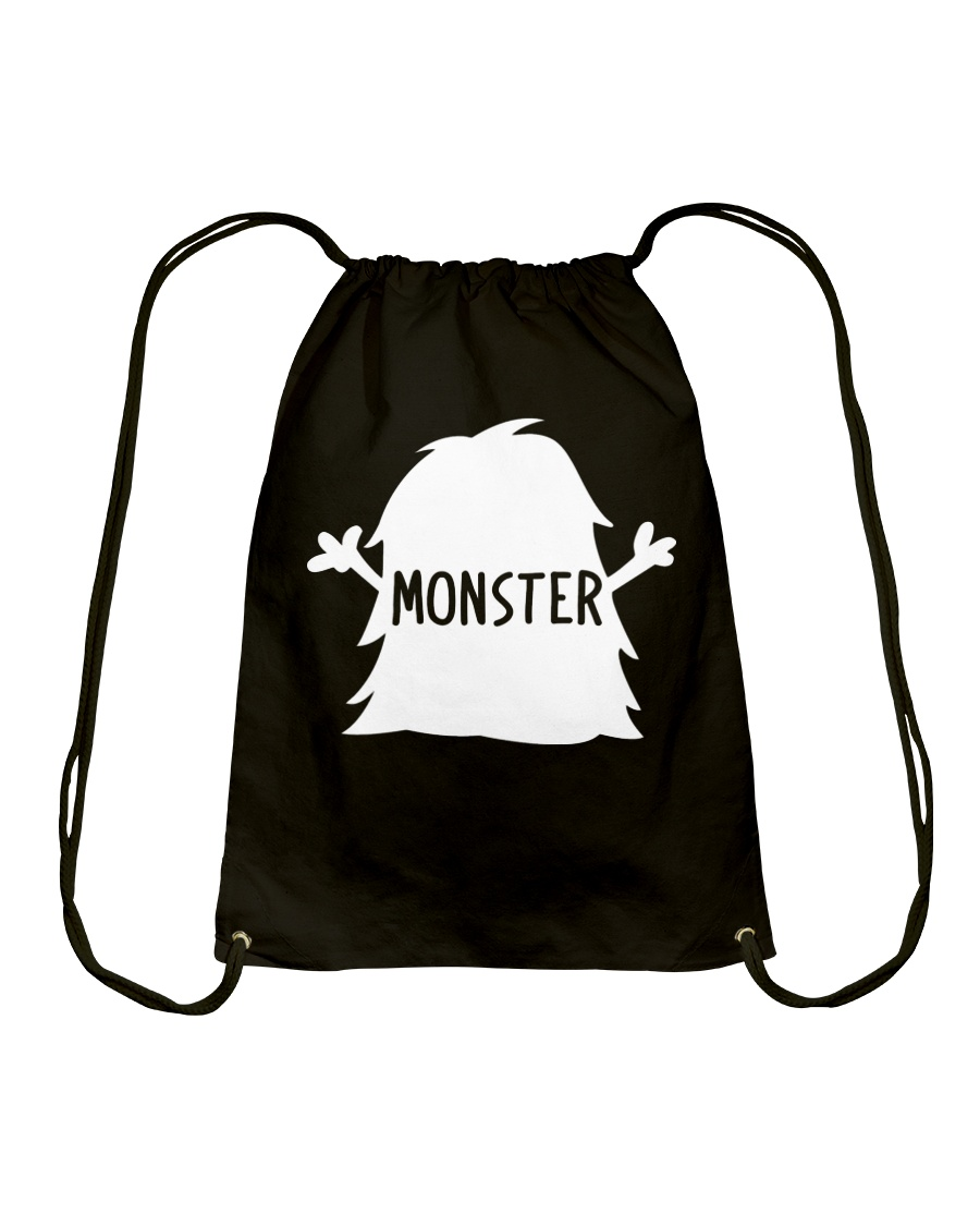 Baby Shirt - Monster Drawstring Bag