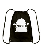 Baby Shirt - Monster Drawstring Bag front
