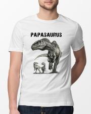 Papasaurus Classic T-Shirt lifestyle-mens-crewneck-front-13