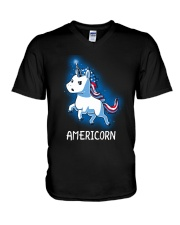 Americorn V-Neck T-Shirt thumbnail